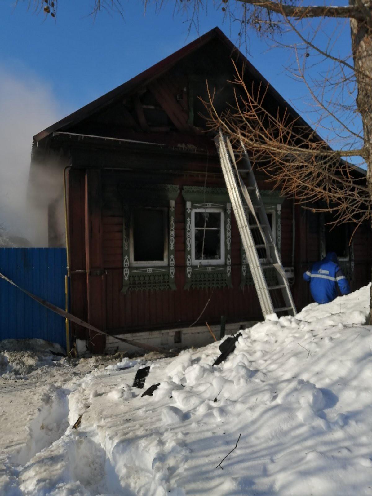 Пожар Ивановская область, г. Шуя, ул. 7-я Текстильная, 39 ликвидирован.