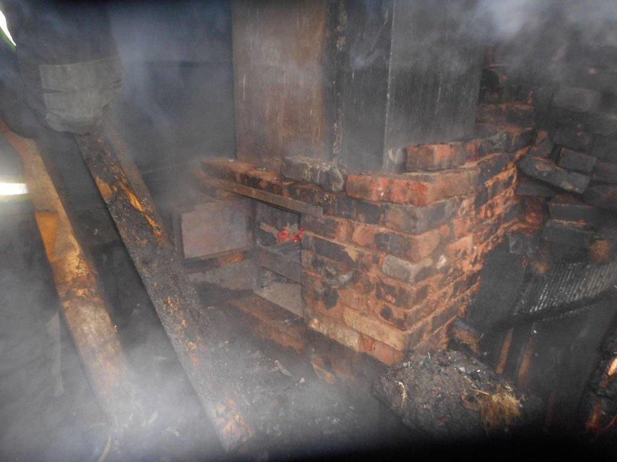Пожар Ивановская область, г. Иваново, ул. Средняя, д. 10.