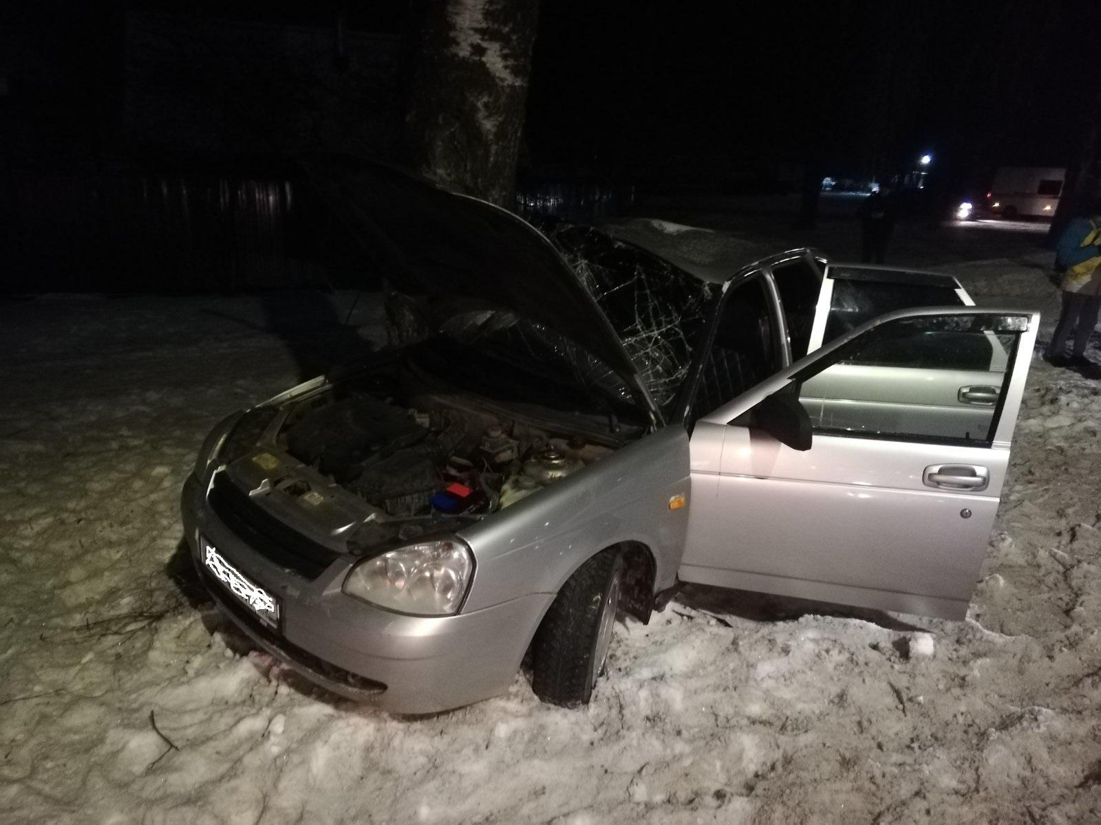 ДТП  Ивановская область, Лежневский район, поворот на с. Чернцы.
