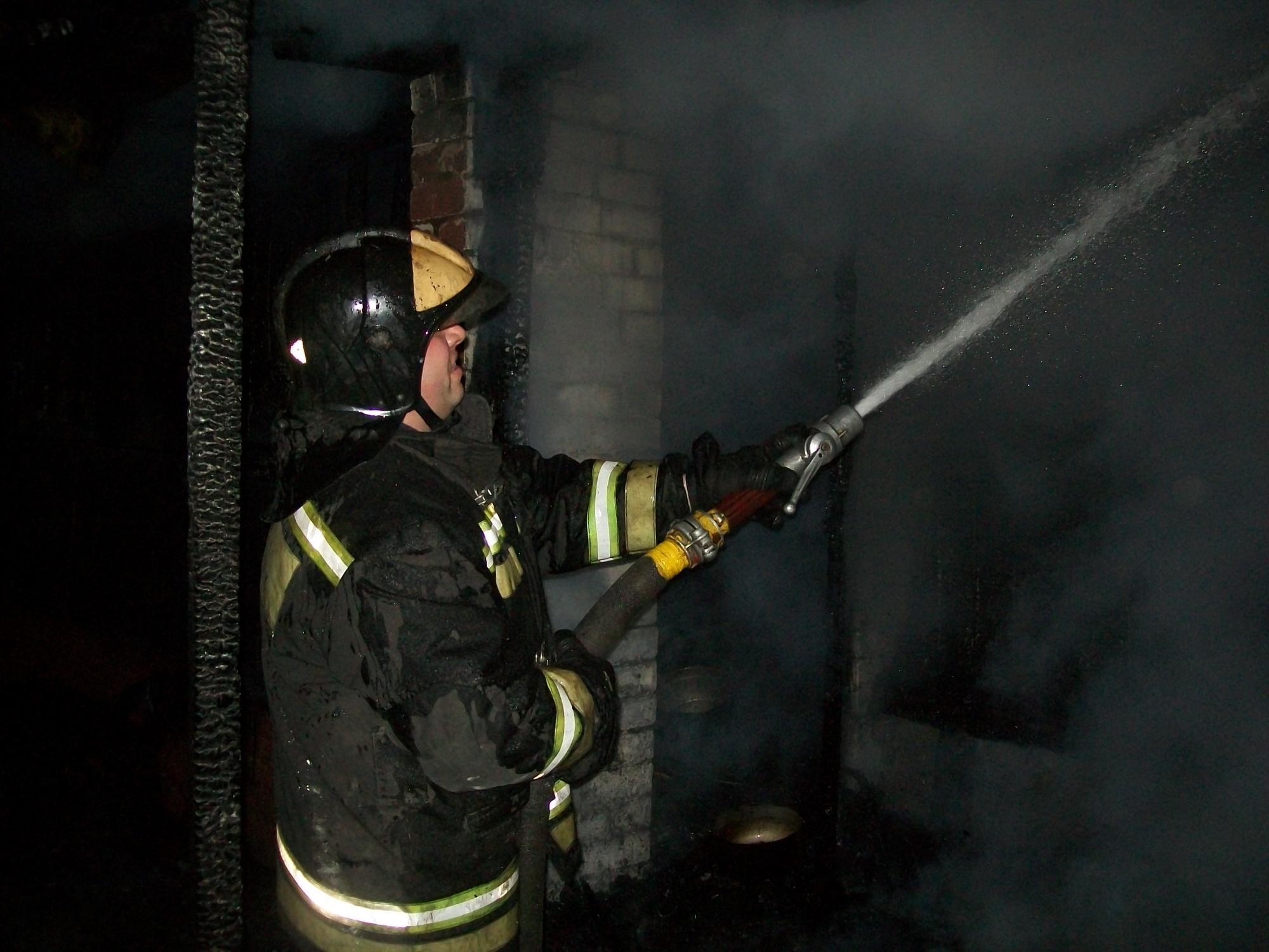 Пожар Ивановская область, Лежневский район, н.п. Новые Горки.
