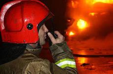 Пожар Ивановская область, Верхнеландеховский район, н.п. Баженово, локализован