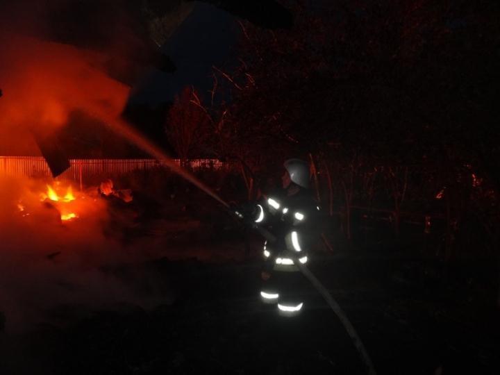 Пожар Ивановская область, Приволжский район, н.п. Утес.
