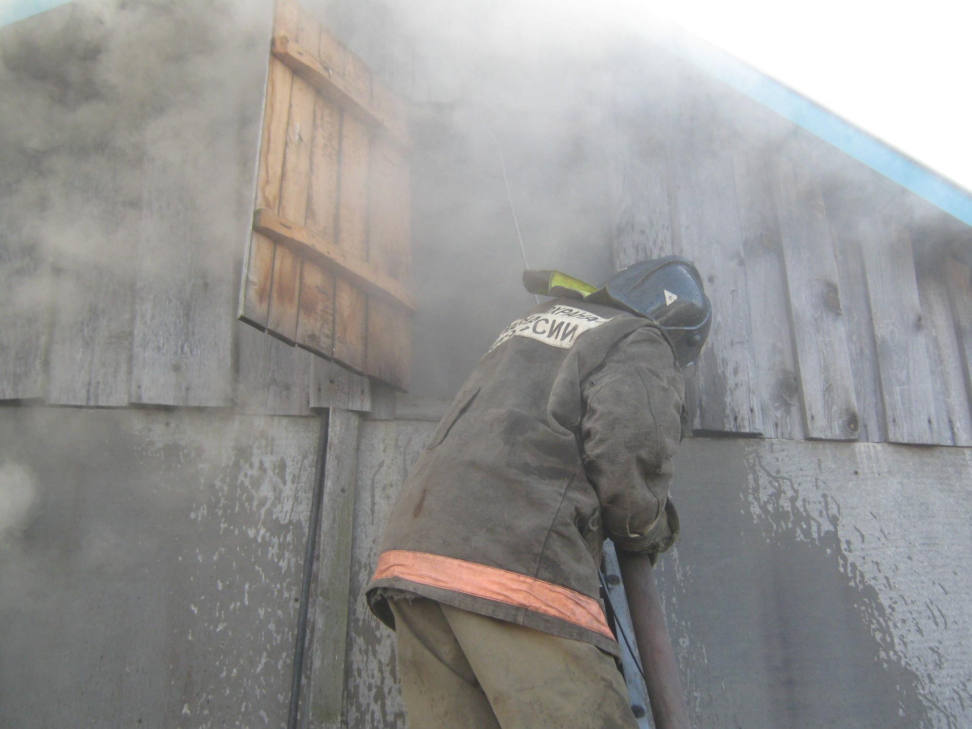 Пожар Ивановская область, г. Кохма, ул. Октябрьская д. 64