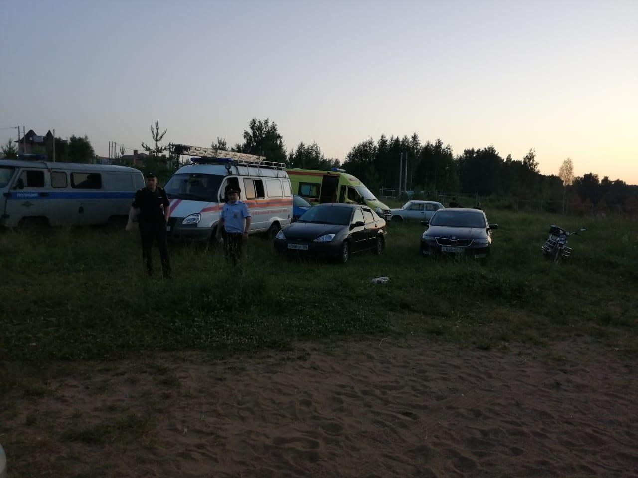 Происшествие на воде  в г.о. Кинешма Ивановской области на акватории р. Волга